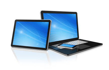 Work with ipad, windows and android